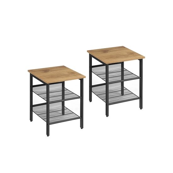 Honey Brown Side Tables