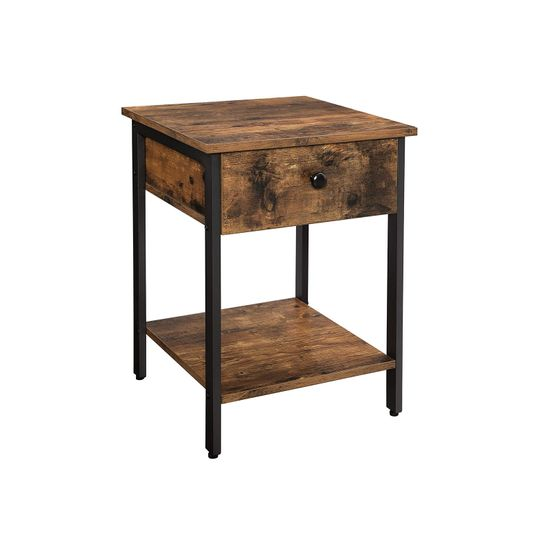 Rustic Brown Nightstand
