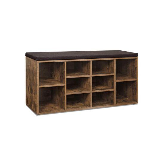 Cubbie Cabinet Storage Bench