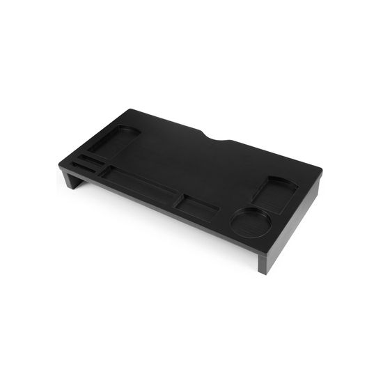 Black Bamboo Monitor Stand