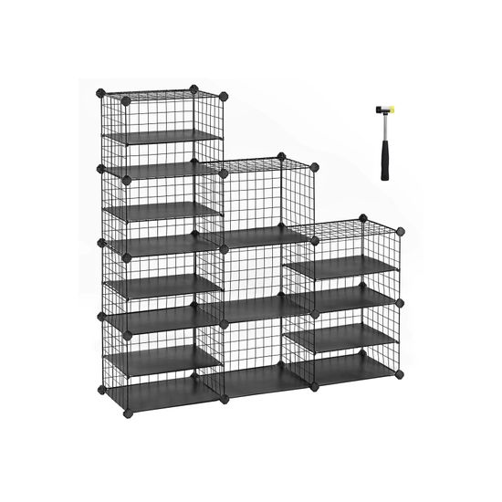 Interlocking Cube Storage Unit