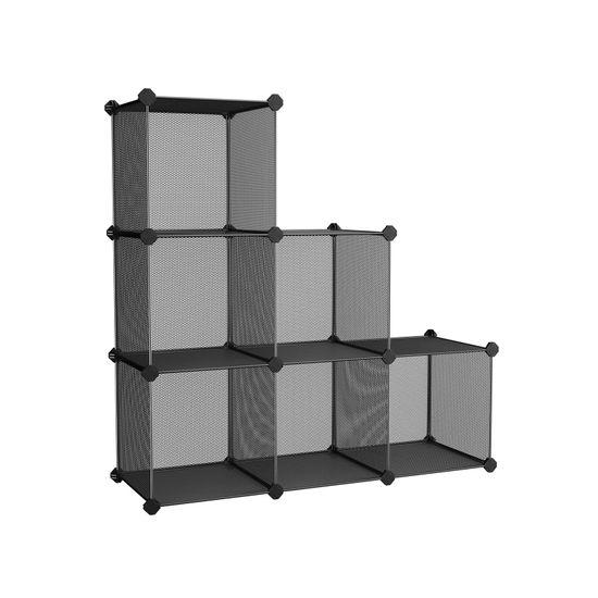 Metal Mesh Storage Cube