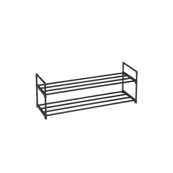 Slatted Metal Shoe Rack