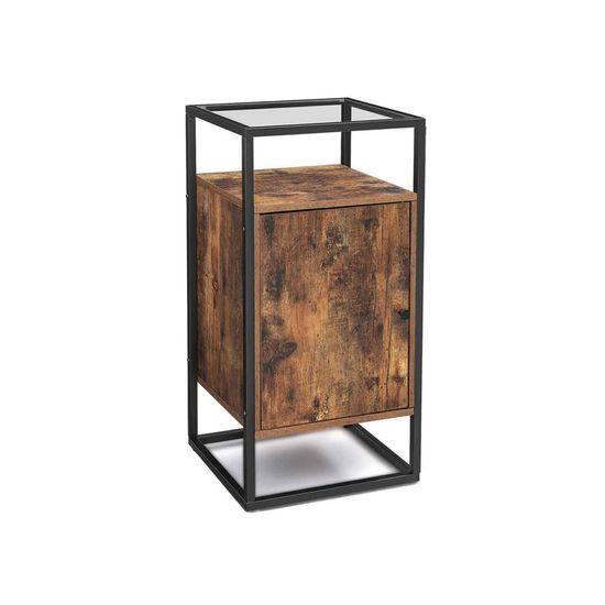 Steel Frame Side Table