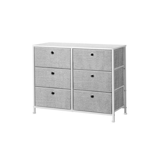 Wooden Tabletop Storage Dresser