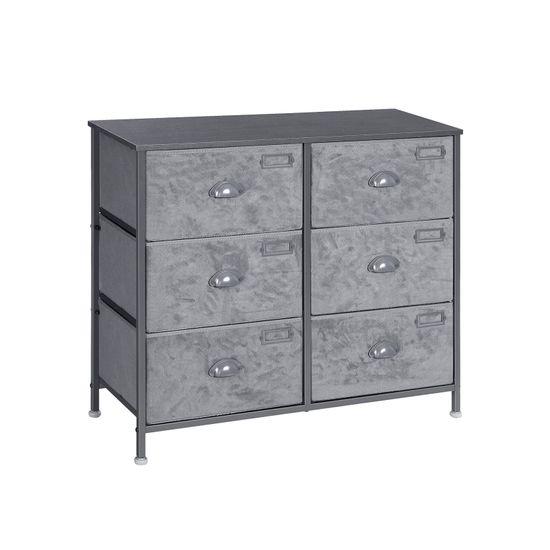 6 Drawers Fabric Dresser
