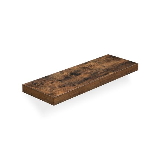 Wood Grain Floating Shelf