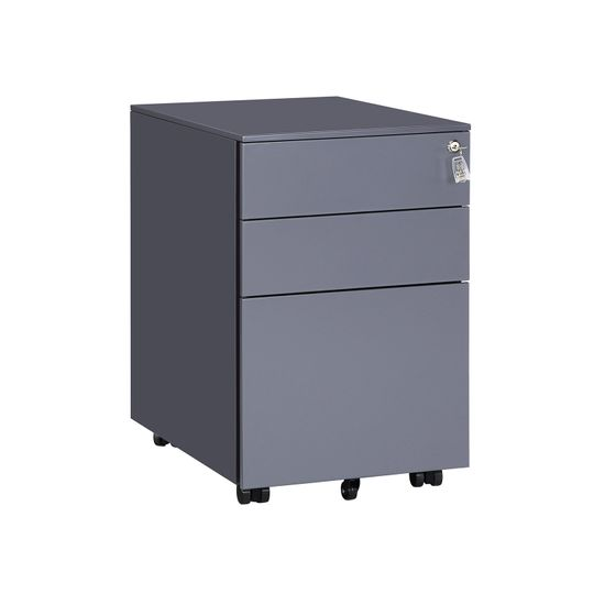 3 Drawers File Cabinet