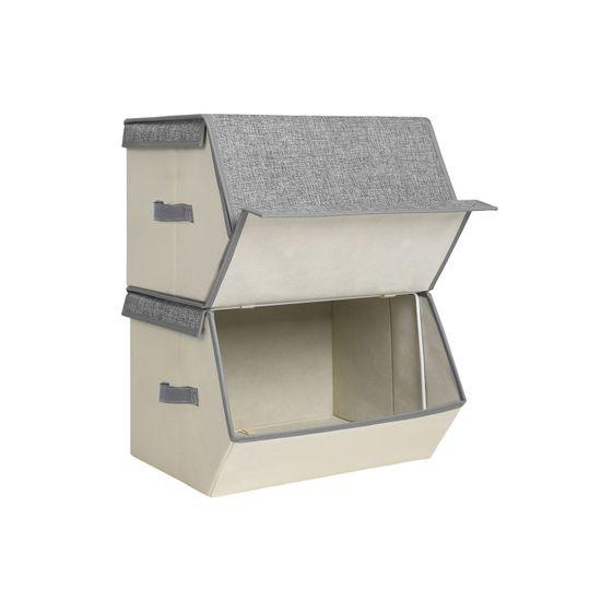 Stackable Storage Bins Cubes