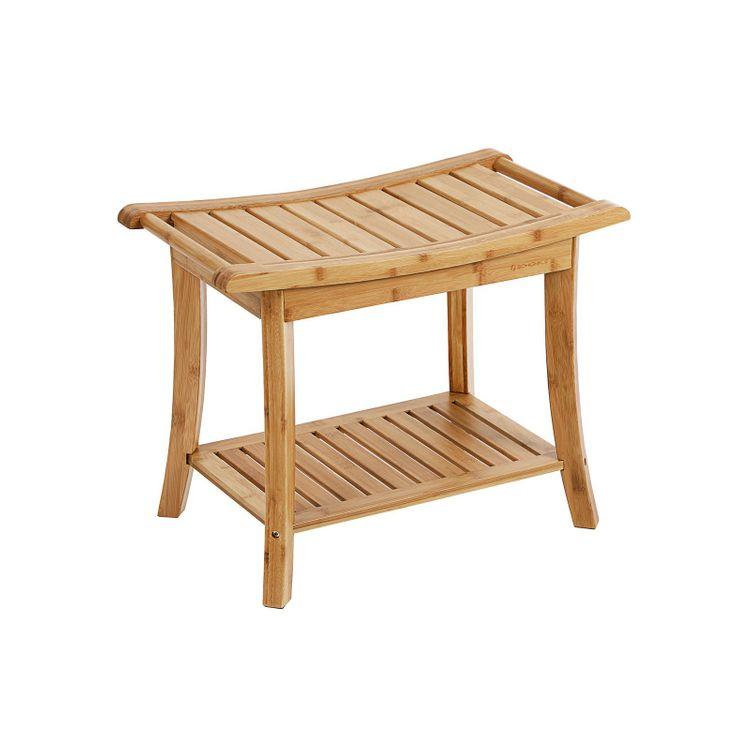 Bamboo Shower Bench
