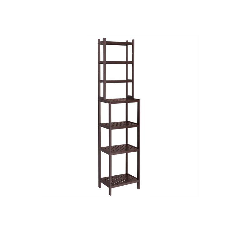 Bamboo Adjustable Storage Rack