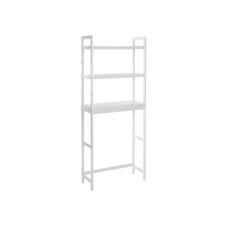 Adjustable Shelves Bathroom Organizer