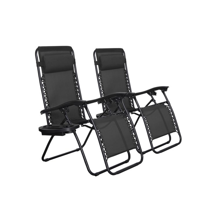 Outdoor Lounge Chairs Set