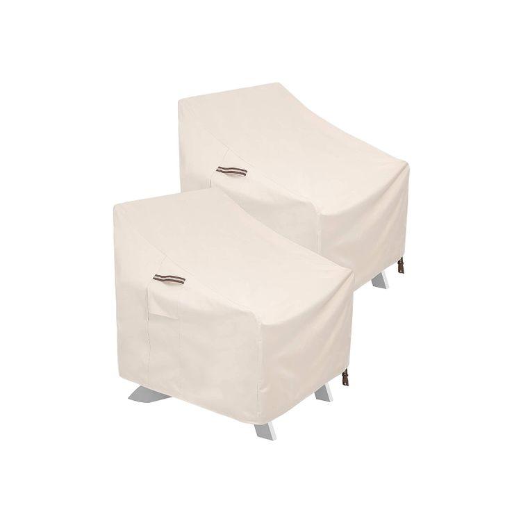 Patio Adirondack Chair Covers Beige