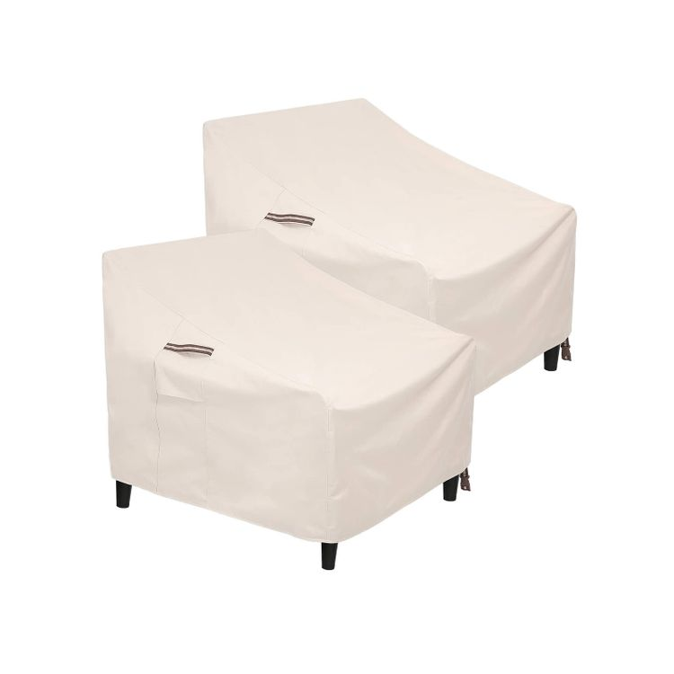 Patio Chair Covers Beige