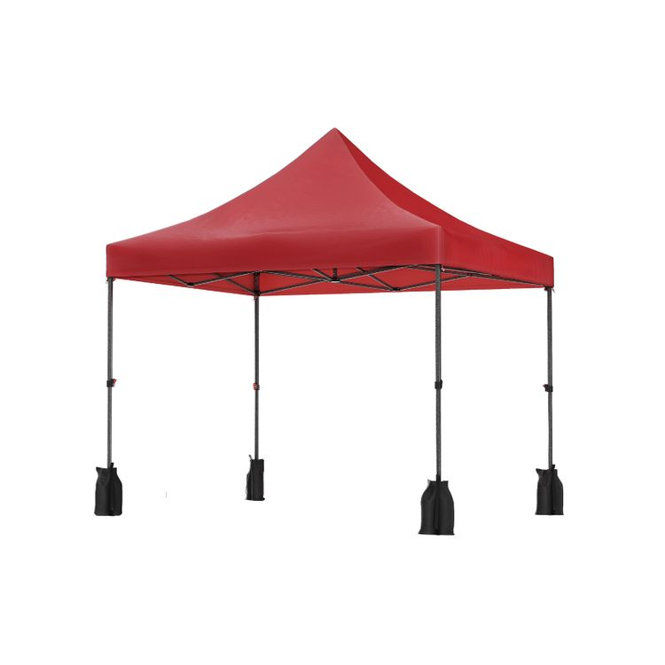 Pop Up Canopy Tent 10 x 10 Feet Red