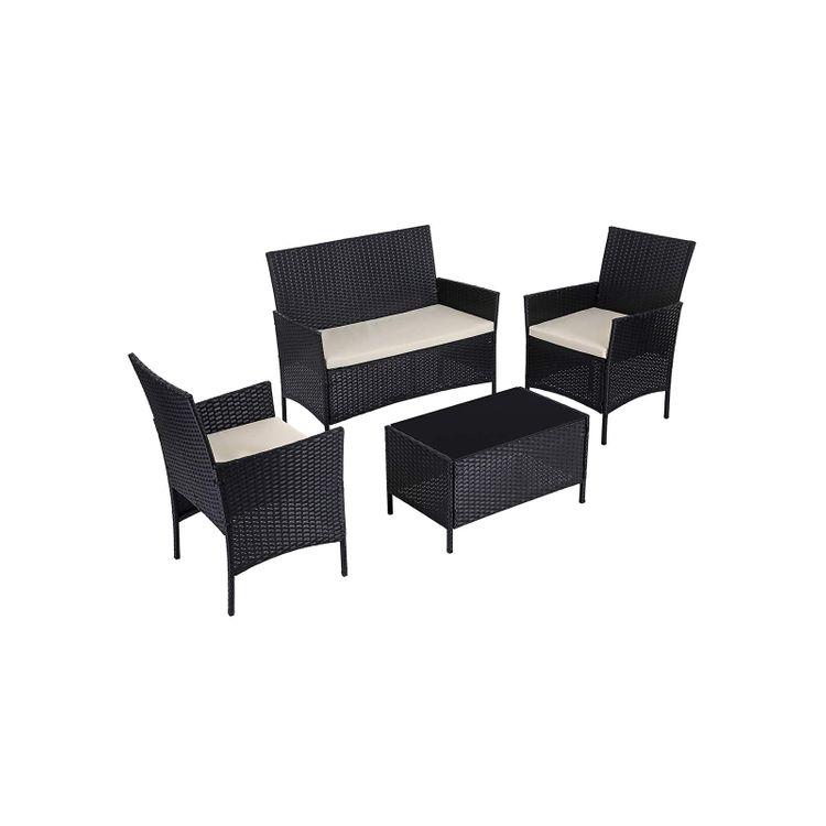 Polyrattan Garden Furniture Set