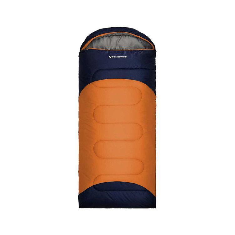 Sleeping Bag Navy Blue and Orange