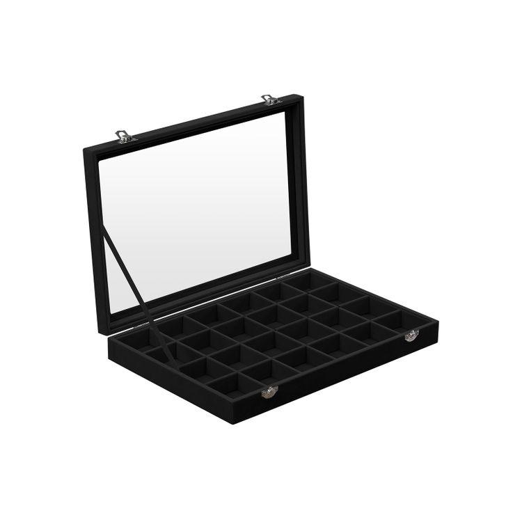 Glass Window Jewelry Box