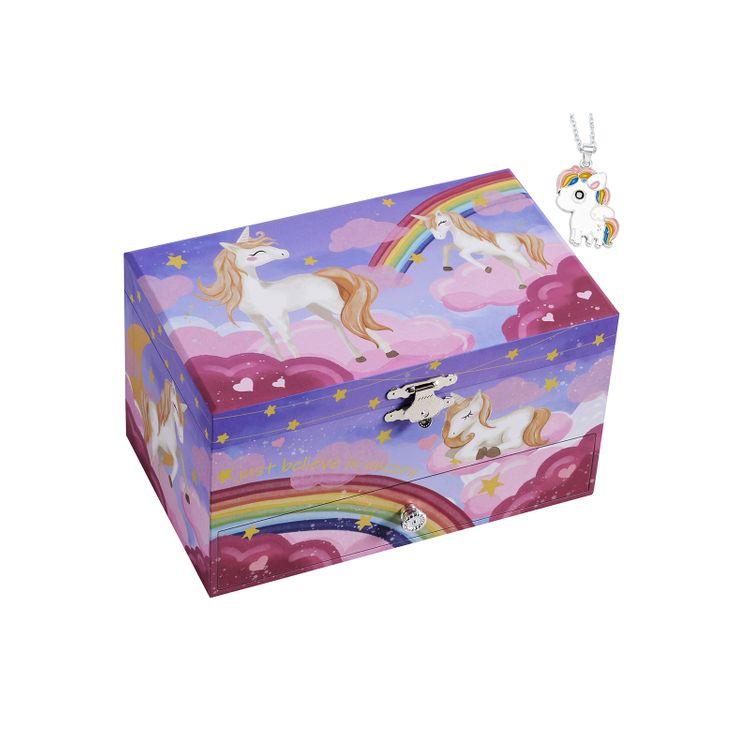 Unicorn Pattern Jewelry Box
