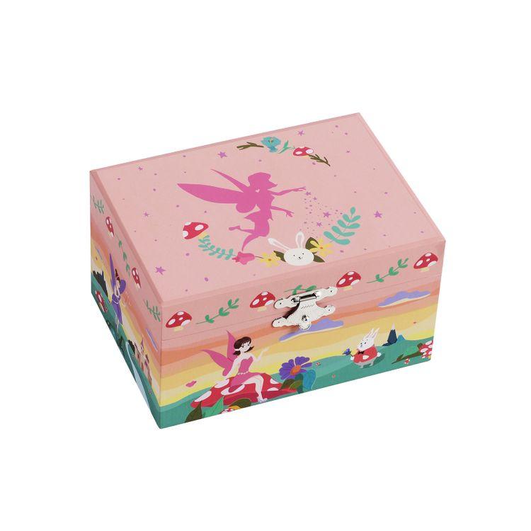 Elf Pattern Jewelry Box