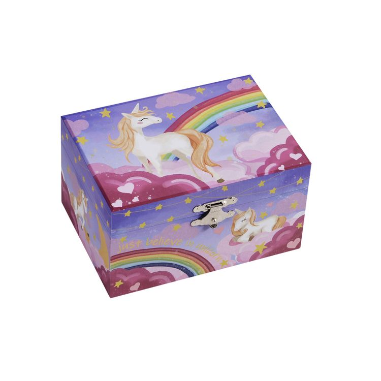Unicorn Rainbow Jewelry Box