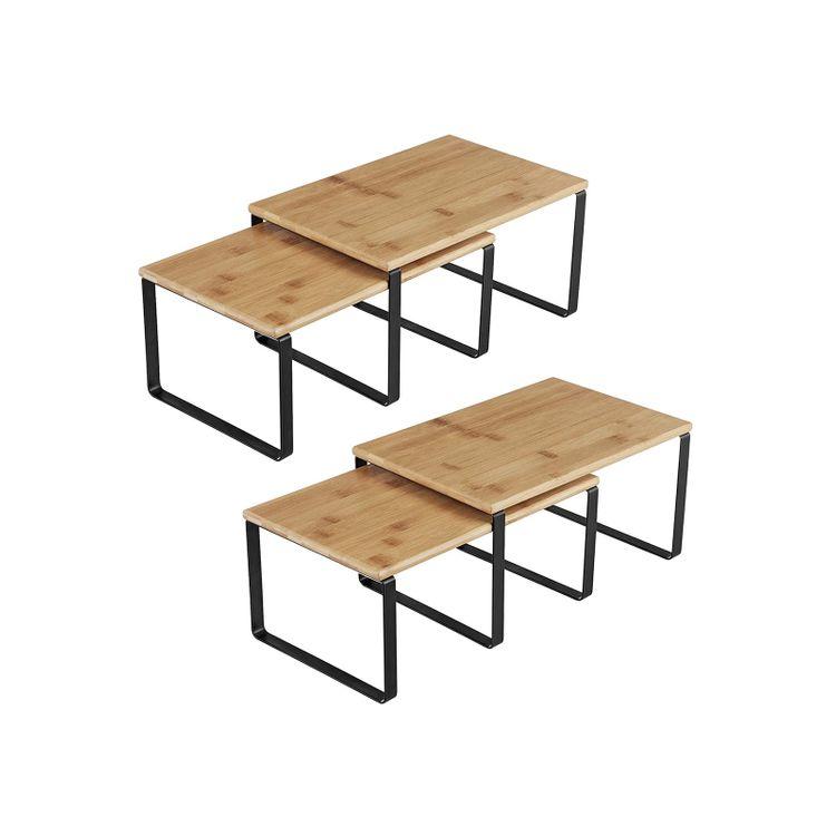 4 Kitchen Counter Shelves