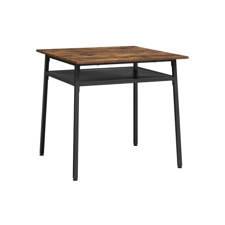 Dining Table with Storage Compartment