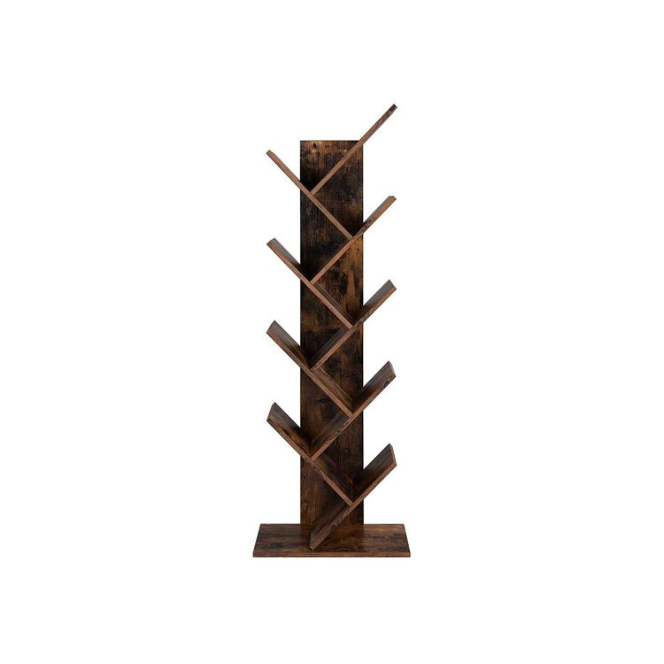 8-Tier Tree Bookshelf