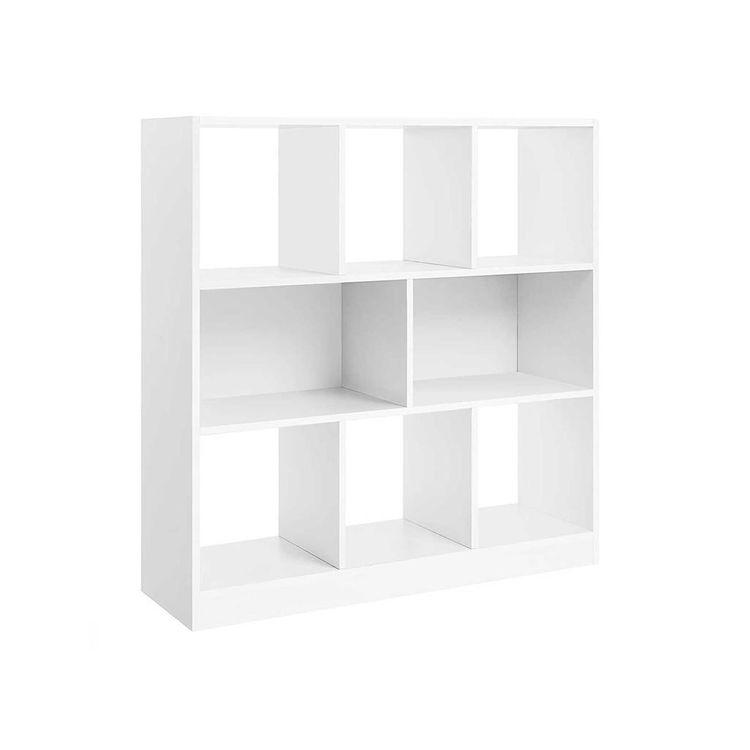 Freestanding Wooden Bookcase