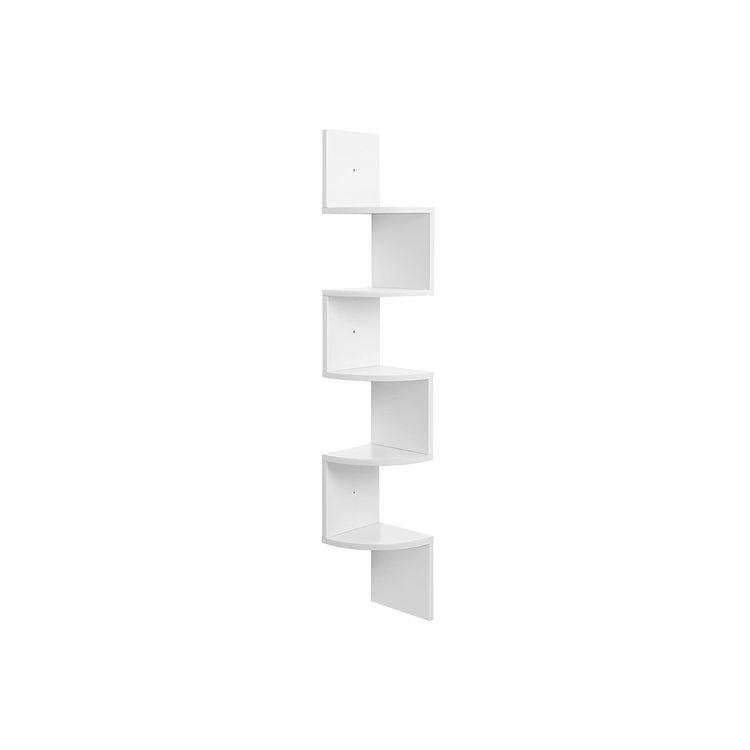 Zigzag Design Corner Shelf