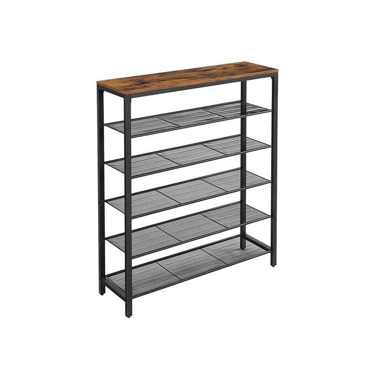 Mesh Shelves Shoe Rack