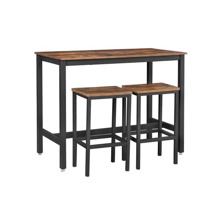 Industrial Bar Table Set