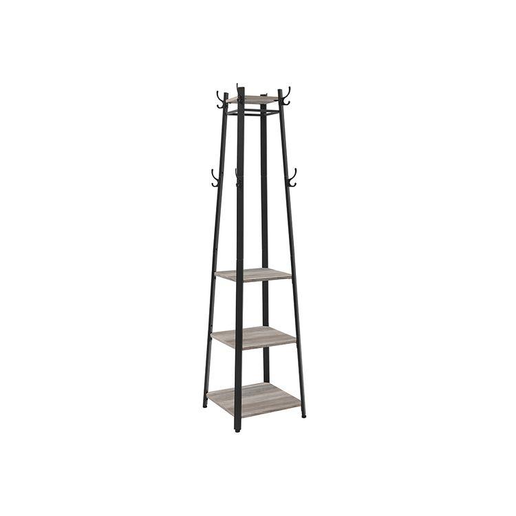 3 Shelves Coat Stand