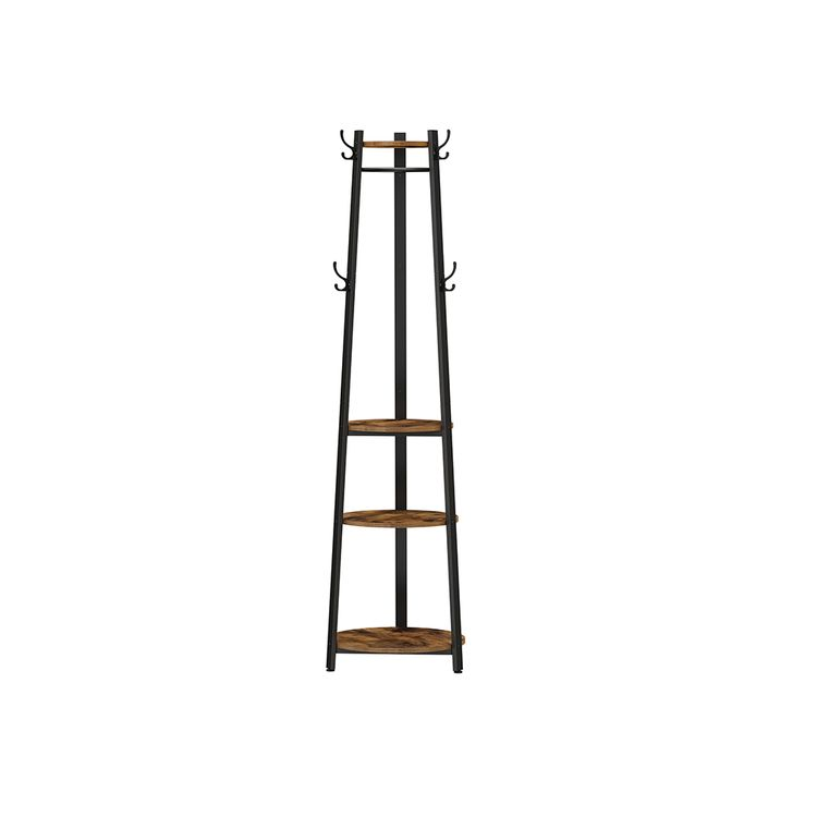 6 Hooks Coat Rack