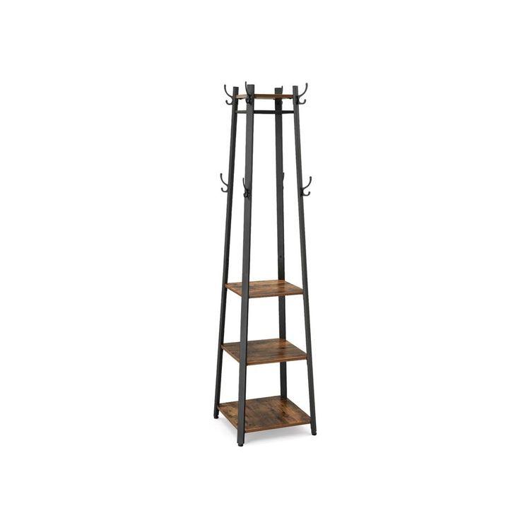 3 Shelves Coat Rack