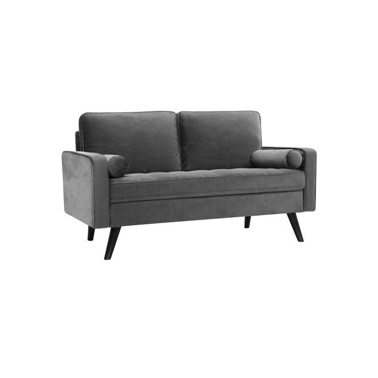 Smooth Velvet Surface Sofa