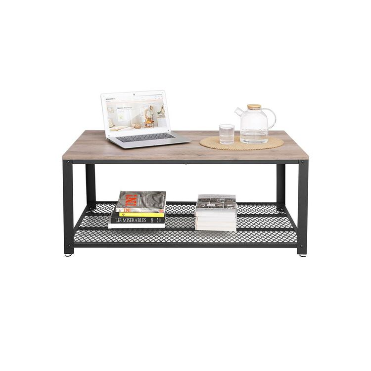 Industrial Accent Coffee Table