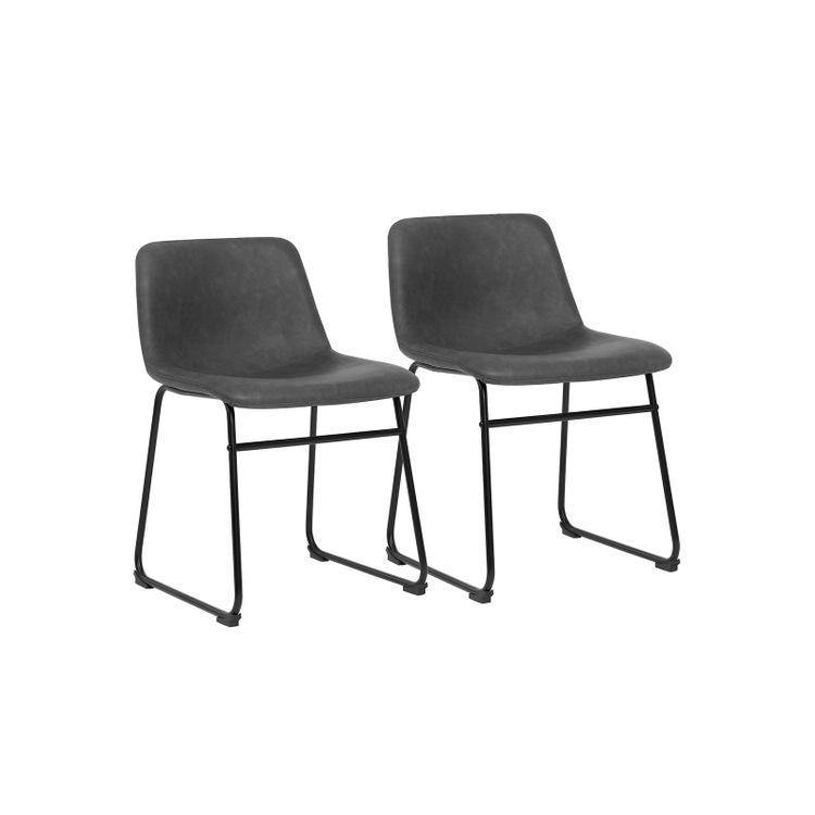 Metal Legs Kitchen Chairs