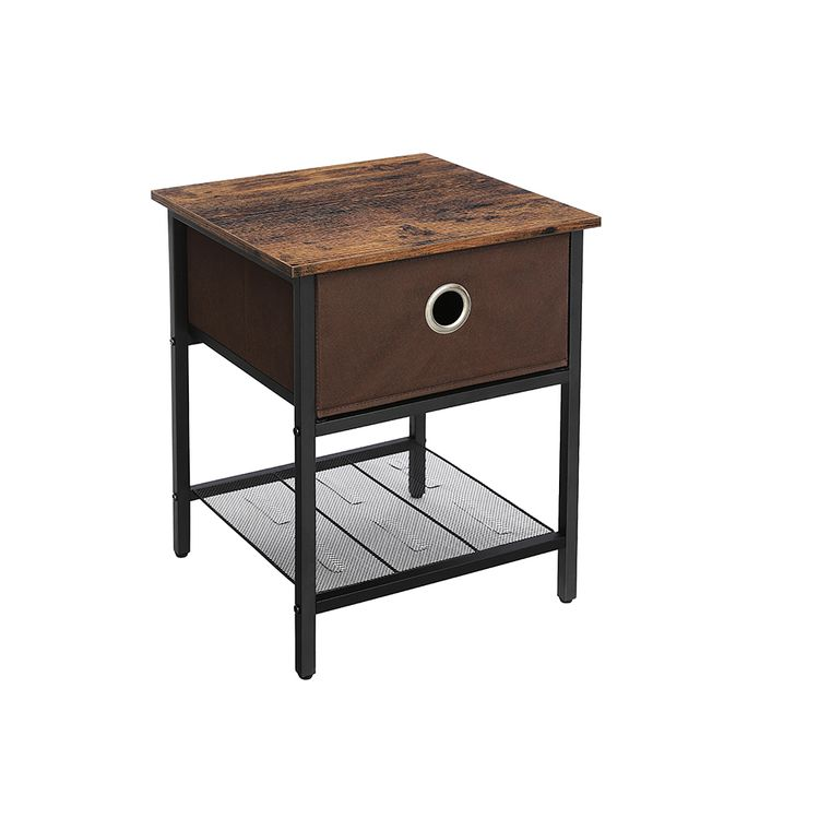 Fabric Drawer End Tables