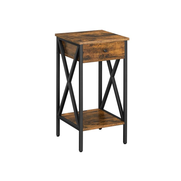 Tall Nightstand with Drawer