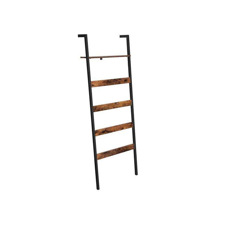 Wall-Leaning Ladder Shelf
