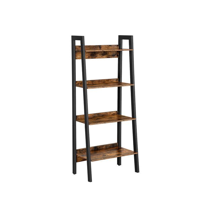 4-Tier Home Office Bookshelf
