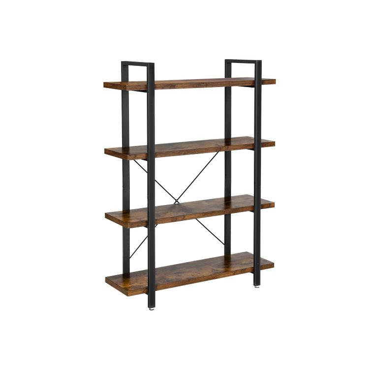 4-Layer Industrial Standing Shelf