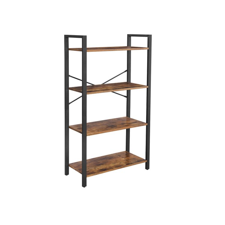 Industrial Ladder shelf Bookcase