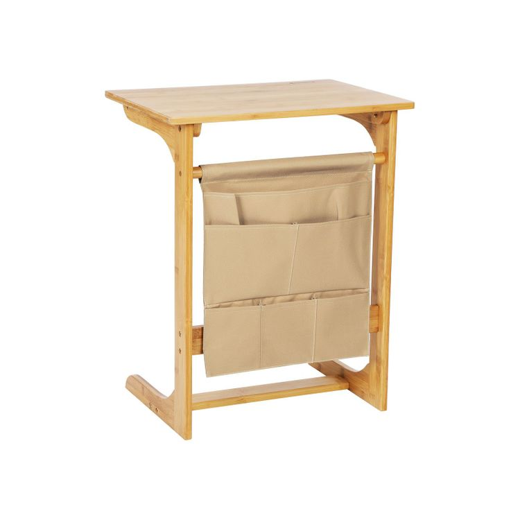 Bamboo Storage Side Table