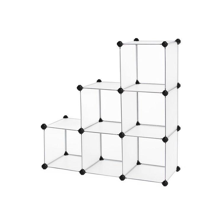 6 Cubes Storage Organizer