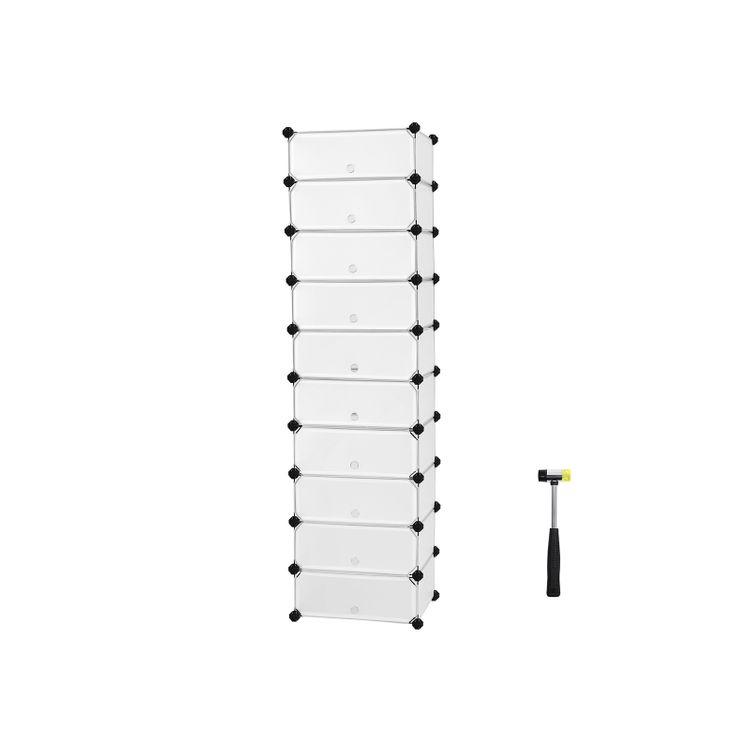 10 Cubes Shoe Rack