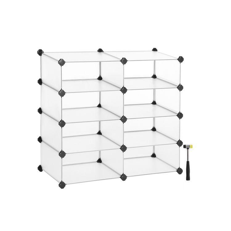 8 Cubes Organizer Unit