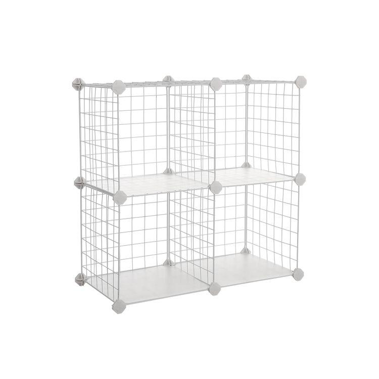 4 Cube Modular Rack